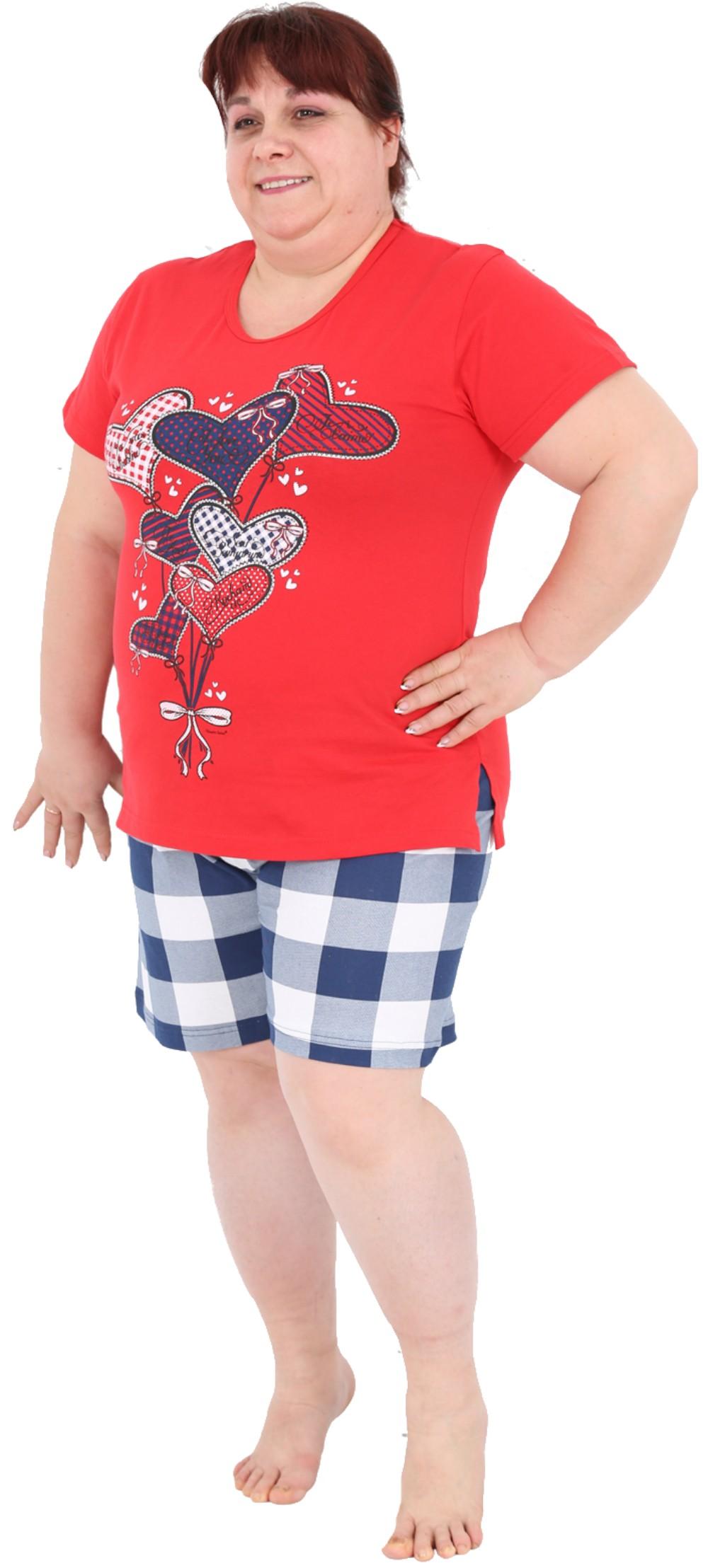a03133f102 Pijama Talla Grande Corto Manga Corta Mujer Globo - Moda y Pijamas