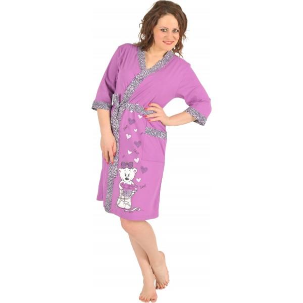 Conjunto Bata y Camisola Mujer Osito Love