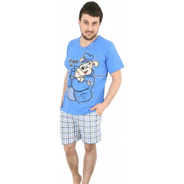 Pijama de Hombre Corto Capitan Gazzaz