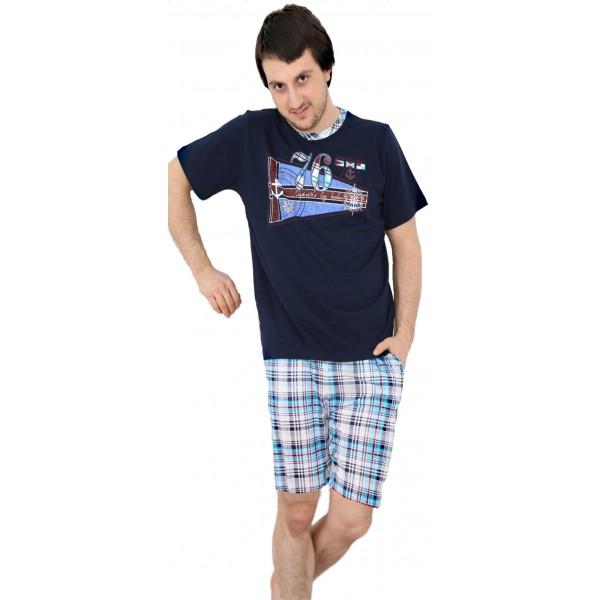 Pijama de Hombre Corto Marinero