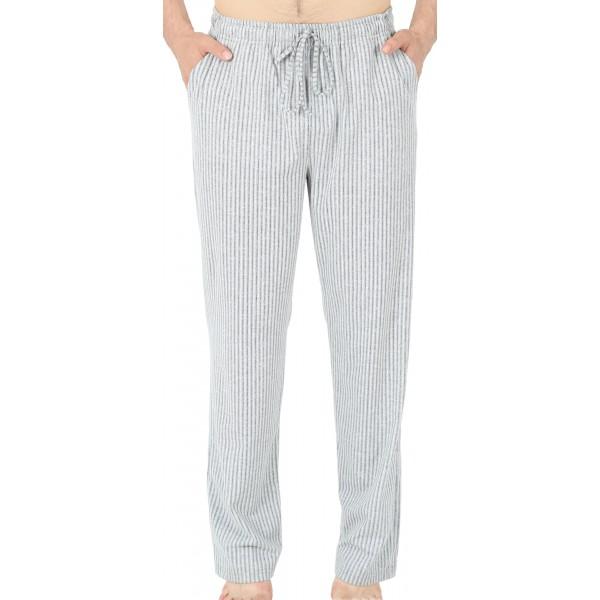 Pantalon Pijama Rayas Gris