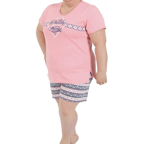 Pijama Talla Grande Corto Mujer You're Awake