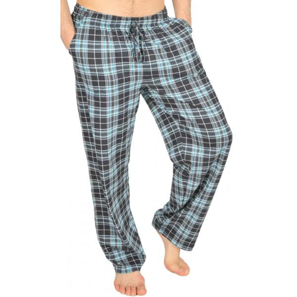 Pantalon Pijama Cuadros Azul/Beige