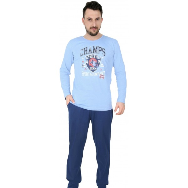 Pijama Hombre Largo Champs
