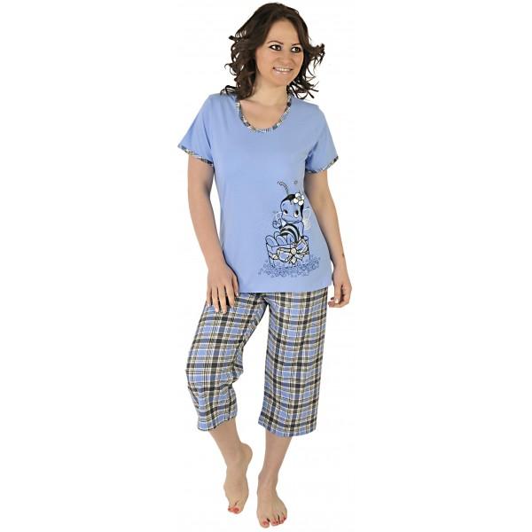 Pijama Talla Grande Pirata Mujer Abeja Cuadros