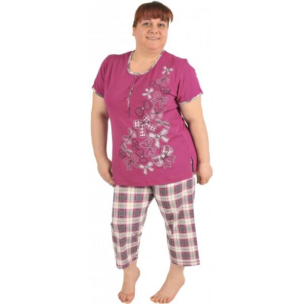 Pijama Talla Grande Pirata Mujer Lazos