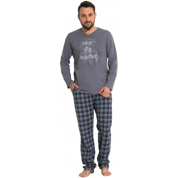 Pijama Hombre Largo Manga Larga Never Stop