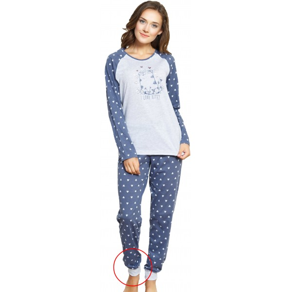 Pijama Largo Manga Larga Love Kitty