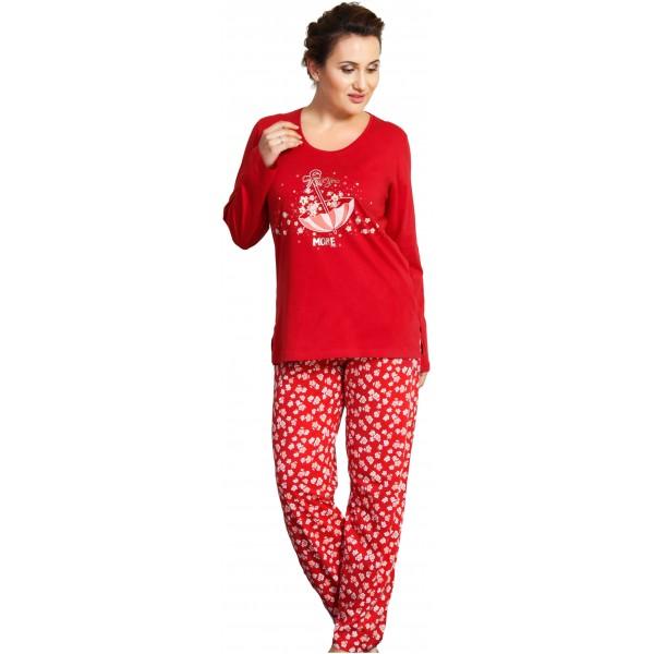 Pijama Talla Grande Manga Larga Mujer More