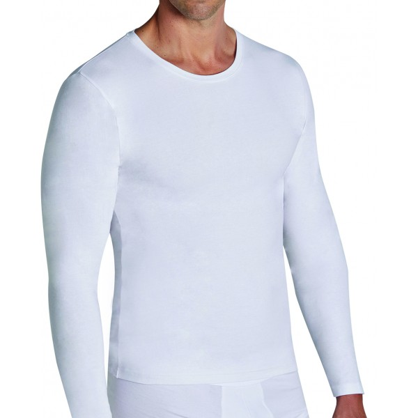 Camiseta Hombre Manga Larga Algodon