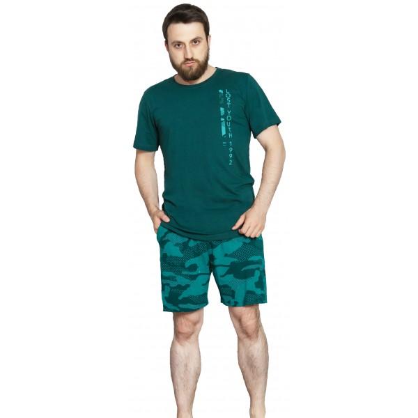 Pijama Hombre Corto Camuflaje