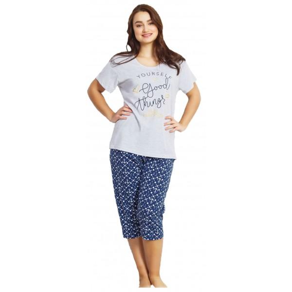 Pijama Talla Grande Pirata Manga Corta Mujer Yourself