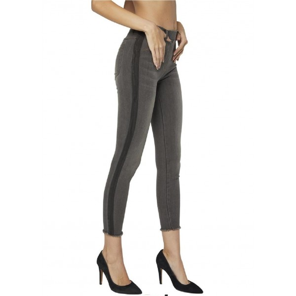 Pantalon Jegging Vaquero Push-Up Brillos