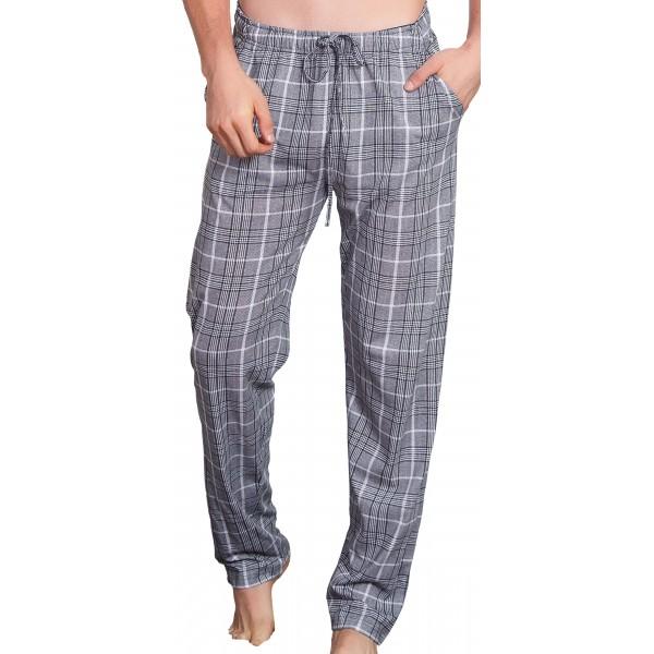 Pantalon Pijama Cuadros Gris/Marino