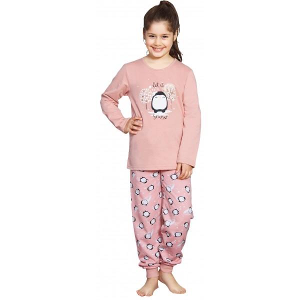 Pijama Perchado/Felpa Manga larga Niña Snoio