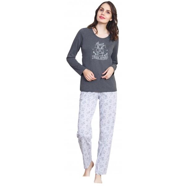 Pijama Largo Manga Larga Mujer Ever After