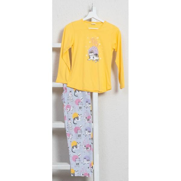 Pijama Manga Larga Niña Lucky Star