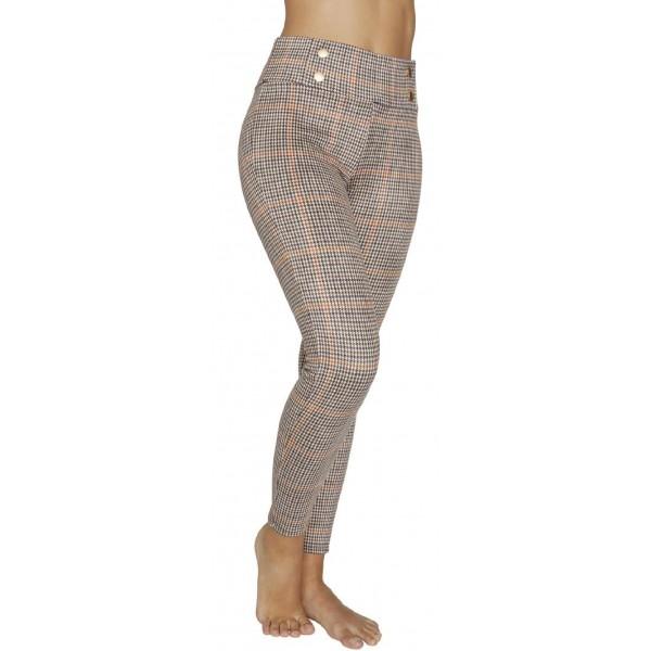 Leggings Mujer Push-Up Fantasia Cuadritos Beys