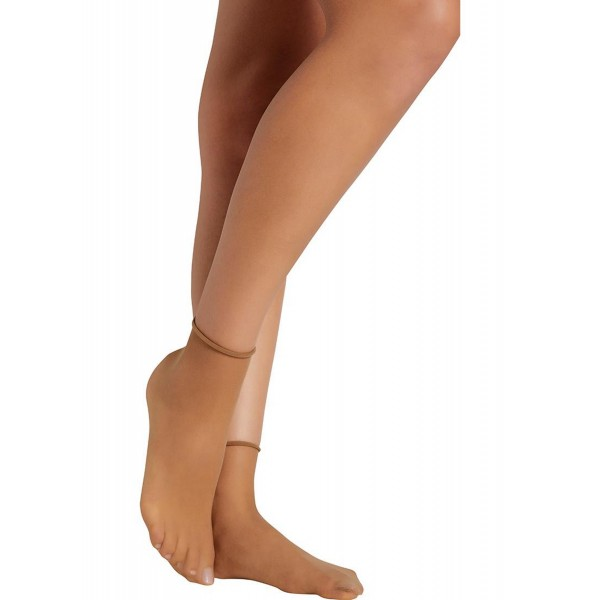 Calcetin Mujer Tobillero 10 DEN Sin Puño (Pack 2 Unidades)