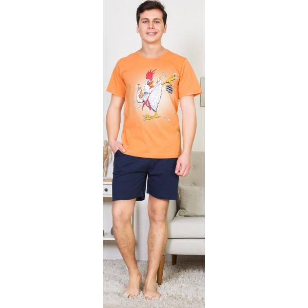 Pijama Hombre Corto Gallo