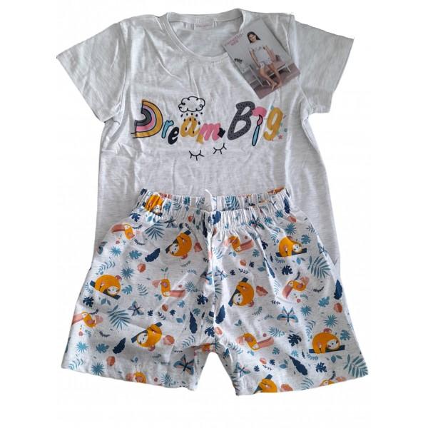 Pijama Corto Manga Corta Niña Dreams
