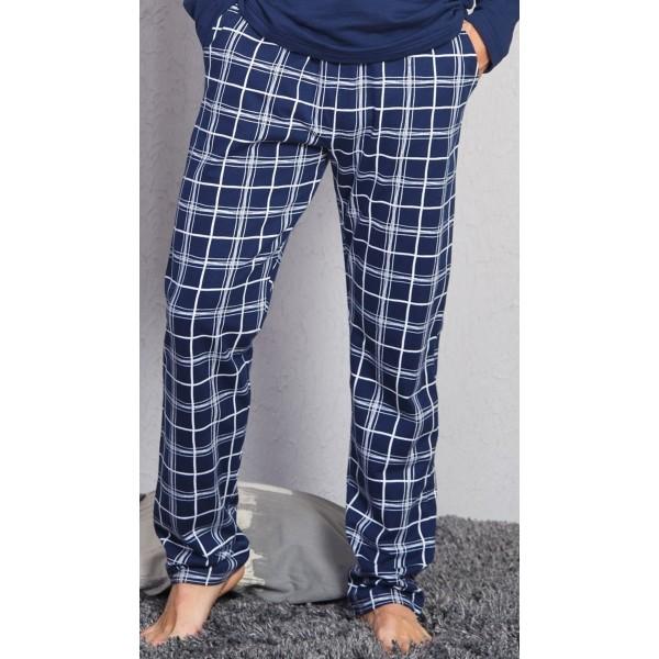 Pantalon Talla Grande Unisex Cuadro Marino