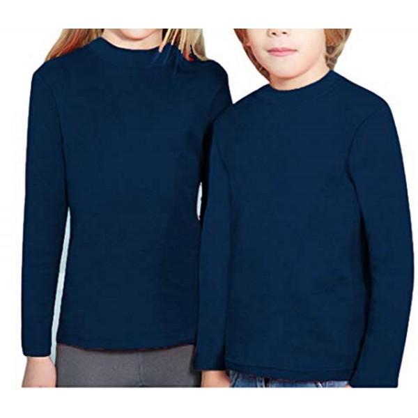 Camiseta Niño/a Manga Larga con Felpa Semicisne