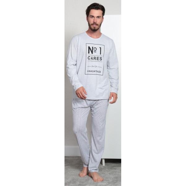 Pijama Hombre Largo Manga Larga Nª 1