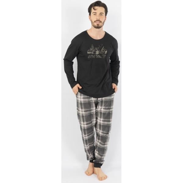 Pijama Hombre Largo Manga Larga Boss