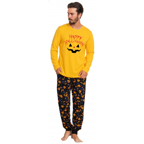 Pijama Hombre Largo Manga Larga Halloween