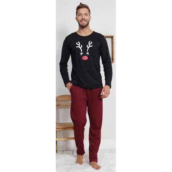 Pijama Hombre Largo Manga Larga Reno